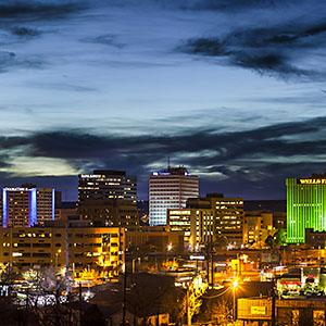 Colliers International Albuquerque - Santa Fe skyline